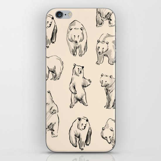 Bears iPhone Skin