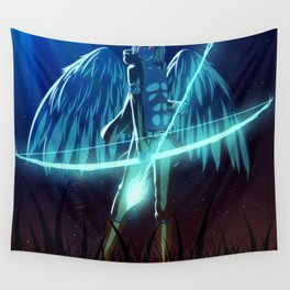 Luc Ready for Battle Wall Tapestry