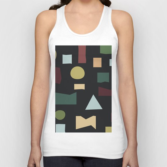 The Pattern Gets Worse III Unisex Tank Top