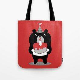 Cake Bear Tote Bag