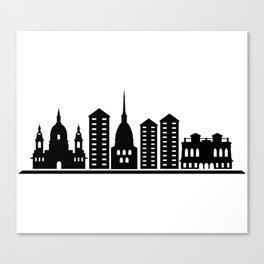 turin skyline Canvas Print