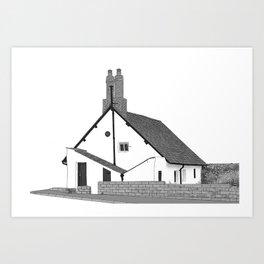 Sir John Barrow Cottage Art Print