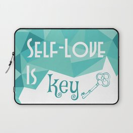 Self-Love is Key Laptop Sleeve