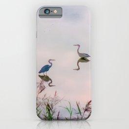 The Lake at Dusk iPhone Case
