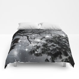 Starry Night Sky Comforters