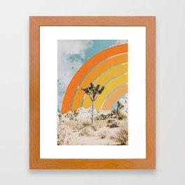 Desertscape Framed Art Print