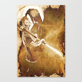 Stephen and Willow 4 Canvas Print