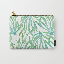 Green Seaweed Carry-All Pouch