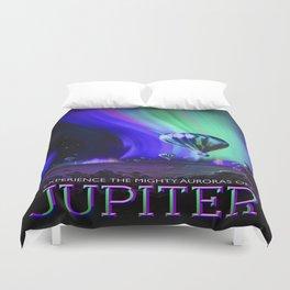 Vintage poster - Jupiter Duvet Cover
