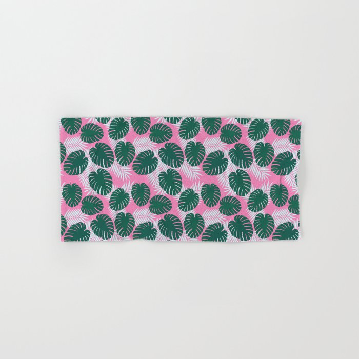 Tropical print  Hand & Bath Towel