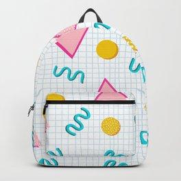Geometric Memphis Backpack