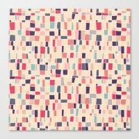grid Canvas Prints featuring grid by Marta Olga Klara