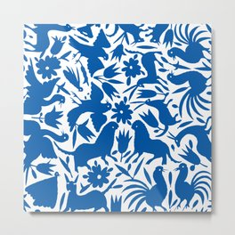 otomi blue Metal Print