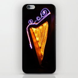 Harp Energy VIII:  Crown with Spirals iPhone Skin