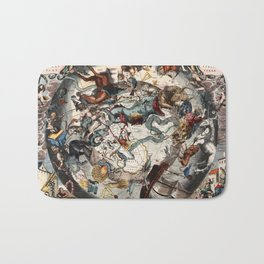 Constellations of the Southern Sky Bath Mat