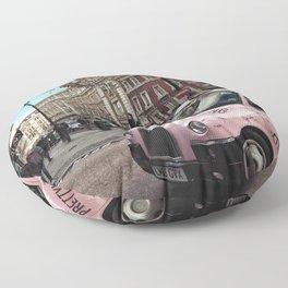 Street of London Floor Pillow