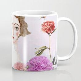 Signorina con fiori Coffee Mug
