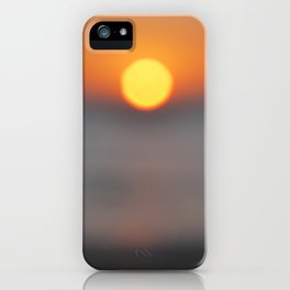 the sun, the sea and the sand iPhone Case