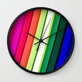 mANCHESTER pRIDE 323 Wall Clock