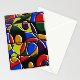 Abstract #223 Stationery Cards