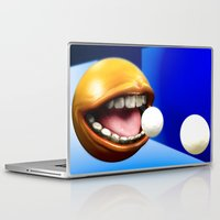 pacman Laptop & iPad Skins featuring PacMan by Joshua A. Biron