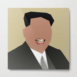 FOGS's People wallpaper collection NO:02 KIM JONG UN Metal Print