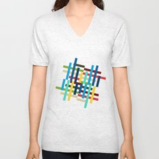 Up and Sideways Unisex V-Neck