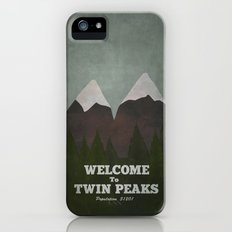 Welcome to Twin Peaks iPhone (5, 5s) Slim Case