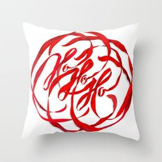 Ho Ho Ho Throw Pillow