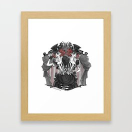 Inktober Carnival Creeps Framed Art Print