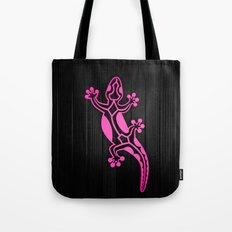 Pink Salamandra Tote Bag