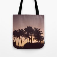 florida Tote Bags featuring Florida by Whitney Retter