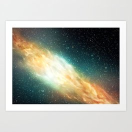 Digital Space 2: Synapse Art Print
