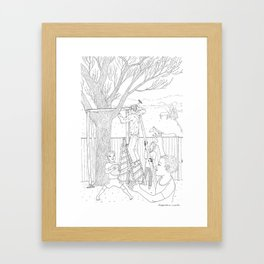 beegarden.works 011 Framed Art Print
