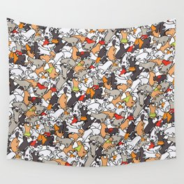 Catcatcats Wall Tapestry