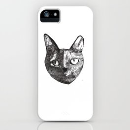 Indifferent iPhone Case