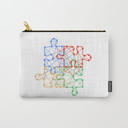 the Puzzle Carry-All Pouch