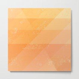 Sun Dragon Scales Metal Print