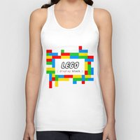 pun Tank Tops featuring CSS Pun - Lego by iwantdesigns