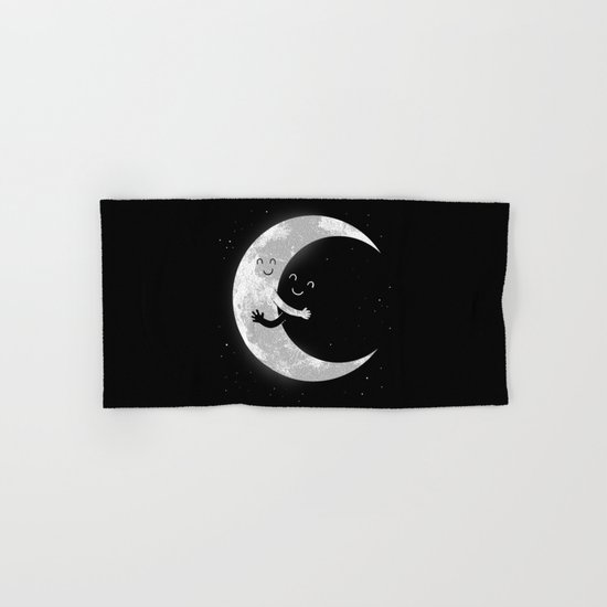 Moon Hug Hand & Bath Towel
