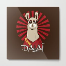 Dalaï Metal Print