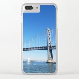 Bay Bridge Clear iPhone Case