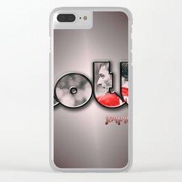 totti sempre nel cuore Clear iPhone Case