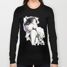 Shibari - Japanese BDSM Art Painting #13 Long Sleeve T-shirt