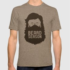 Beard Season Tri-Coffee Mens Fitted Tee X-LARGE