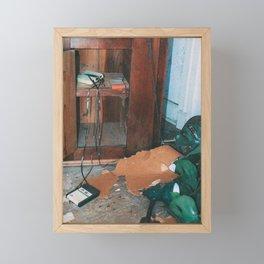 Retro Cassettes Framed Mini Art Print