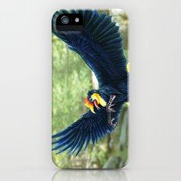 Wrinkled Hornbill Gryphon iPhone Case