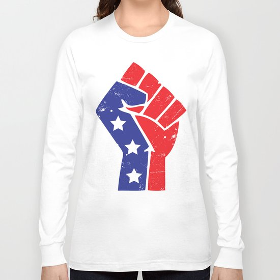 Revoltion Party Fist Long Sleeve T-shirt