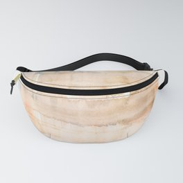 141203 Abstract Watercolor Block 17 Fanny Pack