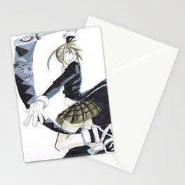Soul and Maka Stationery Cards